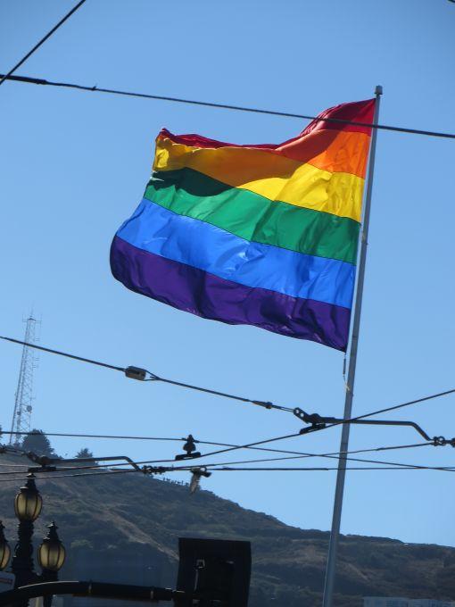 flag over castro