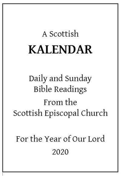 Kalendar 2020